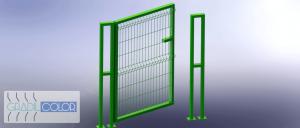 8 - Portao de Acesso - Trave Dupla gradil 2