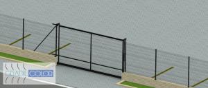 portão autoportante gradil 11
