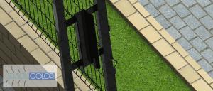 portão autoportante gradil 9