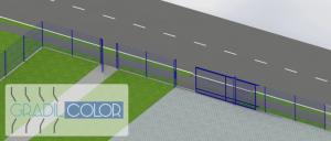portão de correr gradil 16
