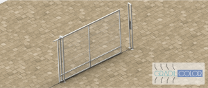 portões de correr gradil