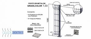 postes 40x60x103